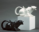 Puking Kitty Gravy Boat