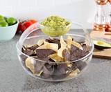 Shatter-Resistant Chip & Dip Bowl