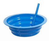 Sip-A-Bowl - Cereal Bowl with Built-in Straw