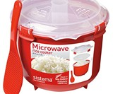 Sistema Microwave Rice Cooker