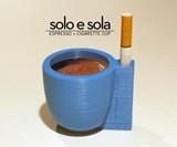Solo e Sola Espresso & Cigarette Cup
