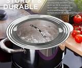 Universal Lid for Pots, Pans & Skillets