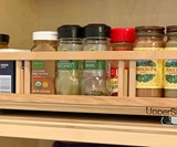 UpperSlide Cabinet Caddies & Spice Rack Pullouts