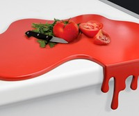 Dripping Blood Cutting Board