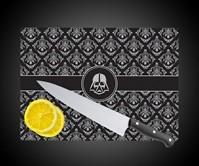 Glass Darth Vader Cutting Board