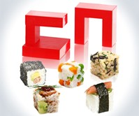 Rice Cube Square Sushi Maker