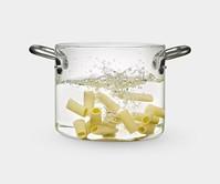 Transparent Stock Pot