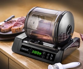 15-Minute Meat & Vegetable Vacuum Marinator