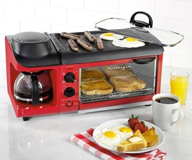 Family Size Hat Trick Breakfast Station