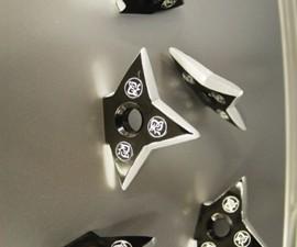 Ninja Throwing Star Magnets