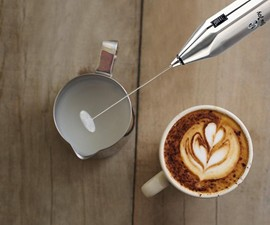 Adjustable Speed 19,000 RPM Milk Frother