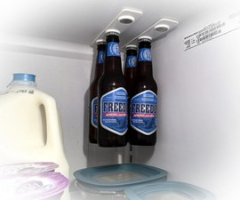 bottleLoft Magnetic Fridge Storage