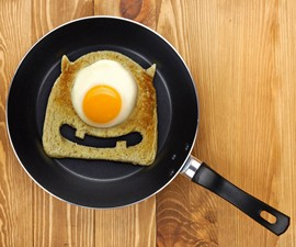 Egg Monster Toast Cutter