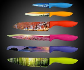 Landscape Kitchen Knife Set