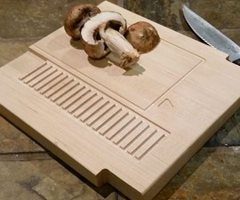 NES Cartridge Cutting Board