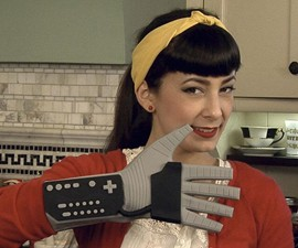 Power Mitt Oven Glove