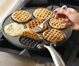Silver Dollar Waffle Griddle