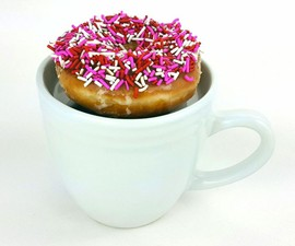 The Doughnut Warming Coffee Mug
