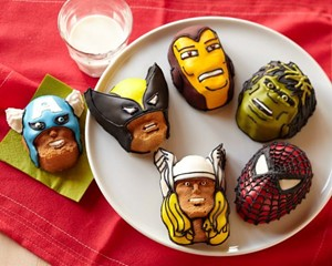 Marvel Superhero Brownie Pan