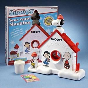 The Original Snoopy Sno-Cone Machine-7279