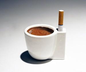 Coffee & a Smoke Cup