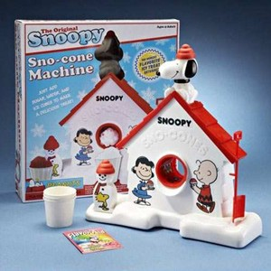 The Original Snoopy Sno-Cone Machine-7279