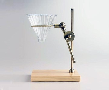 Brass Pour Over Drip Coffee Maker