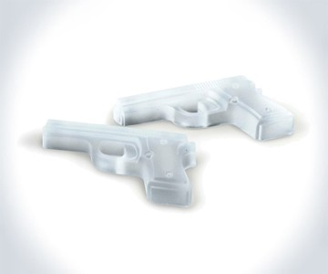 Handgun Ice Cubes