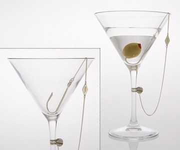 Hookers' Delight Martini Glass