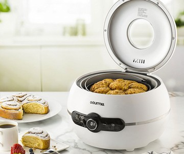 One-Touch Automatic Cake Mixer & Baker