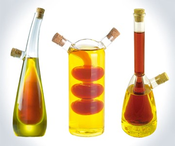 Science Lab Oil & Vinegar Bottles