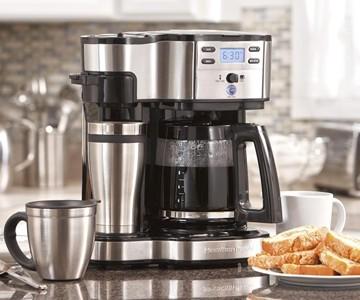 Single Serve & Full Pot Coffee Maker
