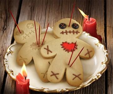 Voodoo Gingerbread Men Cutters