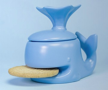 Whale Coffee Mug & Cookie Holder