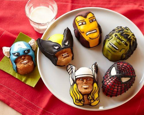 Marvel Superhero Brownie Pan