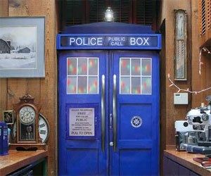TARDIS Fridge Skin Kit