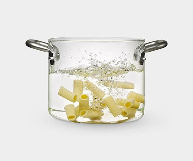 Transparent Stock Pot