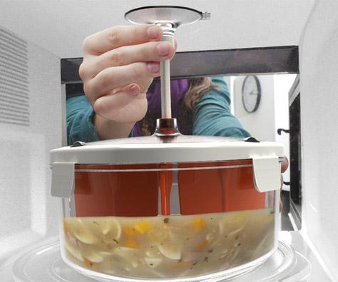 Self Stirring Microwave Bowl Dudeiwantthat Com