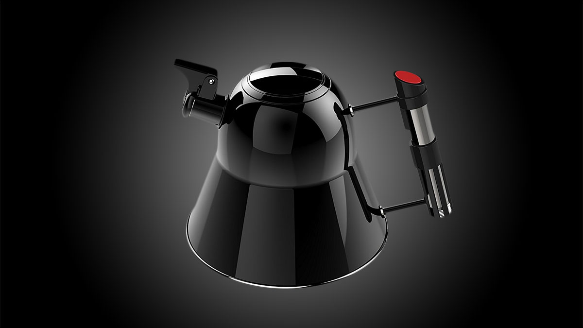 Star Wars Darth Vader Stovetop Tea Kettle