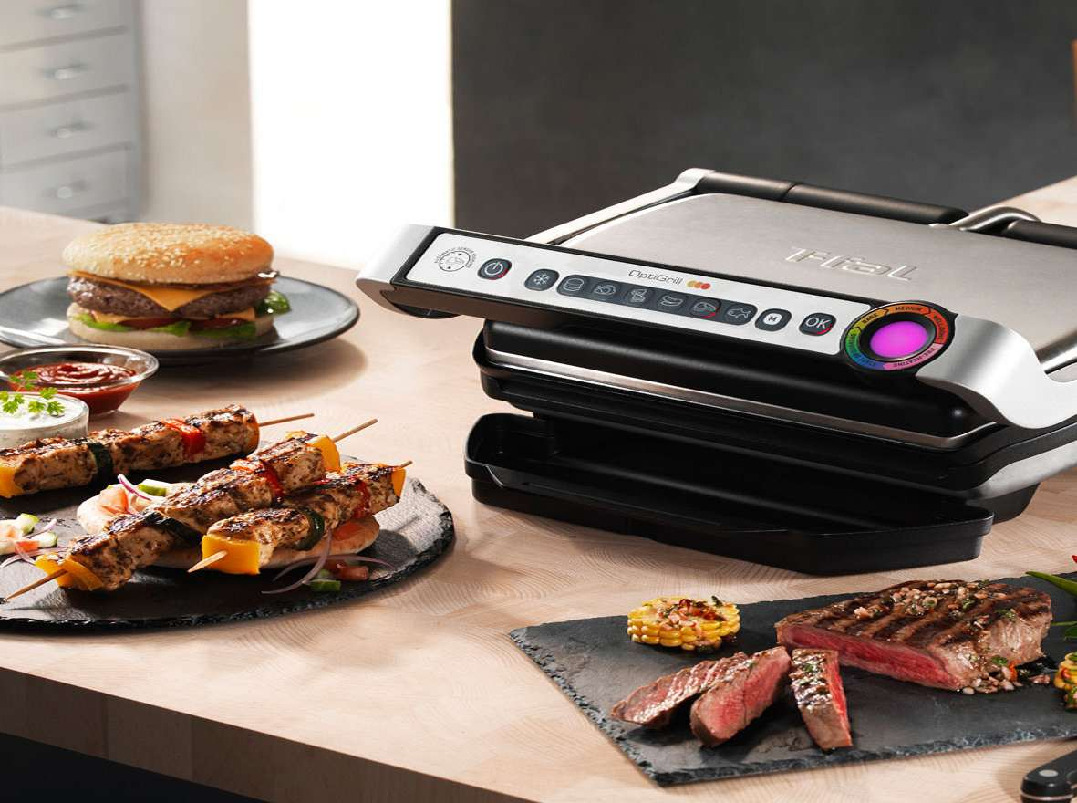 T fal optigrill indoor electric grill - T fal optigrill indoor electric grill ...