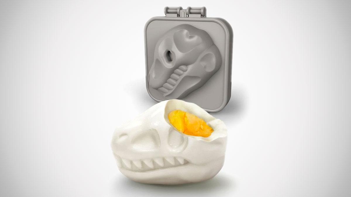T-Rex Skull Hard Boiled Egg Mold