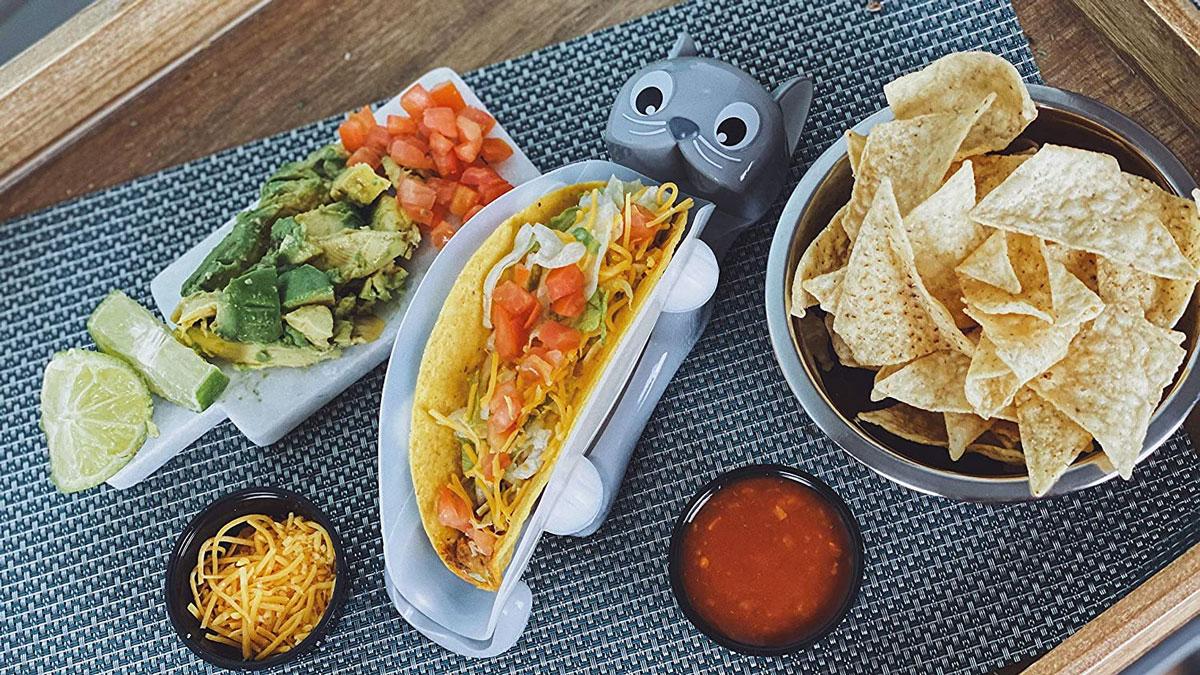 TacoCat Taco Holder