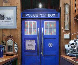 TARDIS Fridge Skin Kit