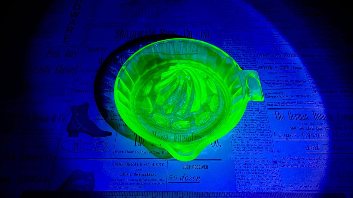 Uranium Glass Juicer