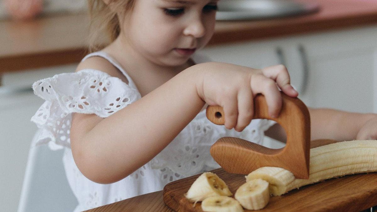 Wooden Knife for Kids