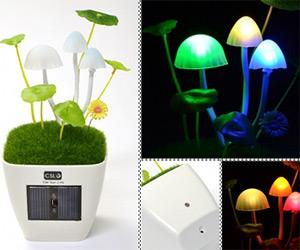 Acid Trip Mushroom Lamp