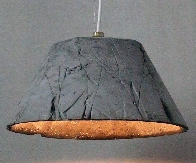 Concrete pendant light for Household cement