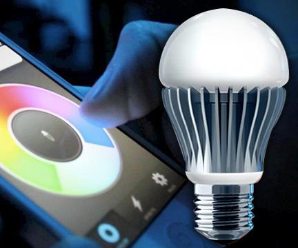 Lifx Smartphone Controlled Light Bulb Dudeiwantthat Com