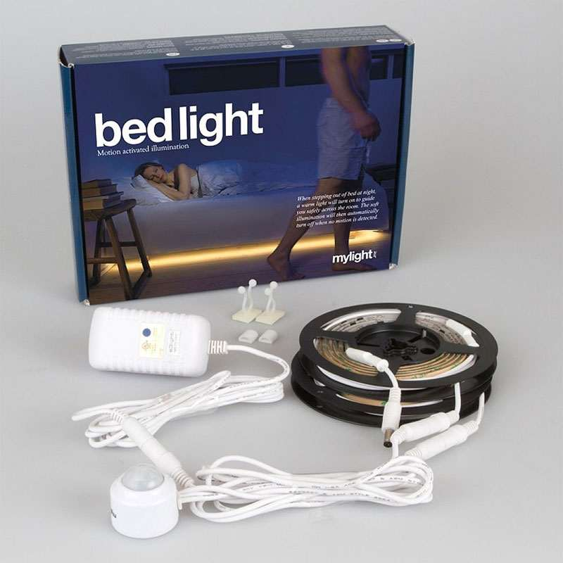 Motion Activated Under Bed Lighting Dudeiwantthat Com