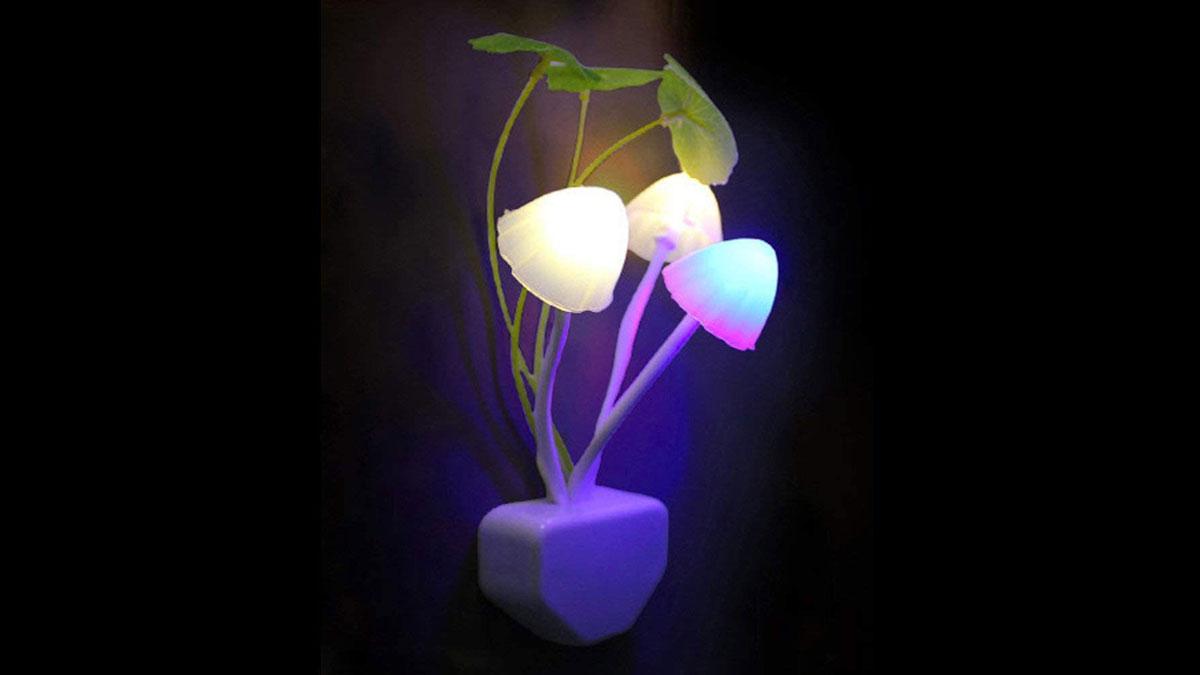 Mushroom Garden LED Night Light